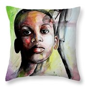 The Musician In Me Throw Pillow