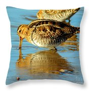 The Mythical Snipe Throw Pillow