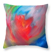 The Mythology Of The Space - The First Thought Throw Pillow