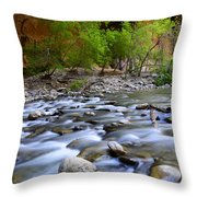 The Narrows A Place To Pause Throw Pillow