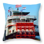 The Natchez 1 Throw Pillow