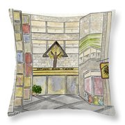 The National Black Theatre Throw Pillow