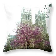 The National Cathedral  Throw Pillow