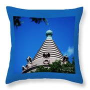 The Natural History Museum Turret 1 Throw Pillow