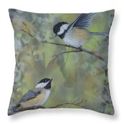 The Nature Of Innocence Throw Pillow