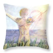 The Nature Of Light Throw Pillow