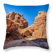 The Natureal Bridge Throw Pillow