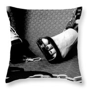 The Naughty Corner Throw Pillow