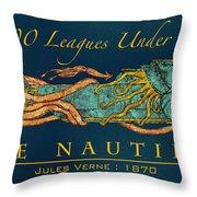 The Nautilus Throw Pillow