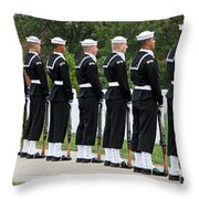 The Navy Ceremonial Guard Throw Pillow
