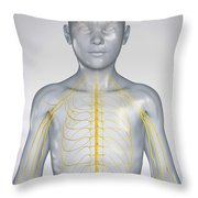 The Nervous System Child Throw Pillow