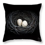 The Nest Throw Pillow
