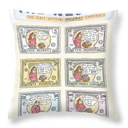 The Neuro  -   The First Official Worldwide Throw Pillow