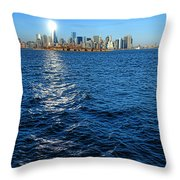 The New Beacon Throw Pillow