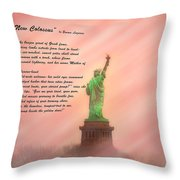 The New Colossus Throw Pillow