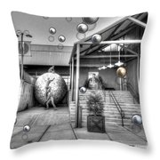 The New Theatre Throw Pillow
