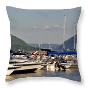 The Newburgh Water Front 2 Throw Pillow