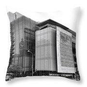 The Newseum Throw Pillow