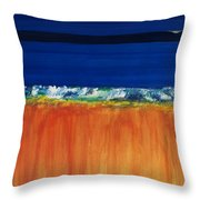 The Next Big Wave Throw Pillow
