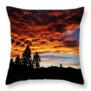 The Next Night In June Throw Pillow