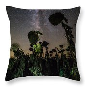 The Night Of The Triffids Throw Pillow