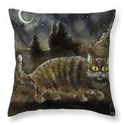 The Night Stalker Throw Pillow