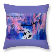 The Nineteen Sixties Throw Pillow