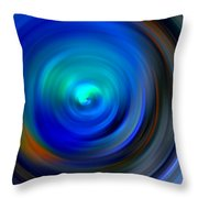 The No.1 Twirling Throw Pillow