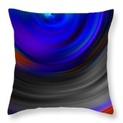 The No.14 Colored Hurricane Throw Pillow