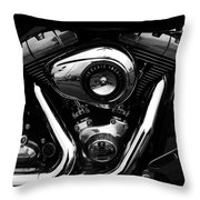 The Noble Steed Throw Pillow