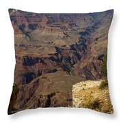The Nooks And Cranies Of The Grand Canyon Throw Pillow