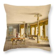 The North Drawing Room, Or Music Room Throw Pillow