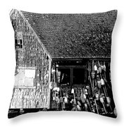 The Nubble Throw Pillow