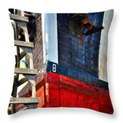 The Number Eight Throw Pillow