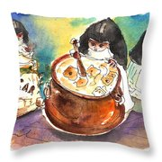 The Nuns Of Toledo 01 Throw Pillow