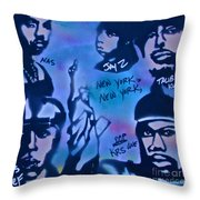 The Nyc Side Throw Pillow