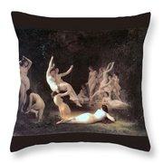 The Nymphaeum Throw Pillow