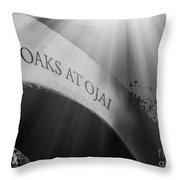 The Oaks At Ojai Throw Pillow