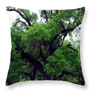 The Oaks Throw Pillow