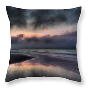 The Oc At Dawn Throw Pillow