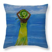 The Oceans Beauty Throw Pillow
