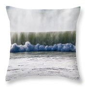 The Oceans Energy Throw Pillow