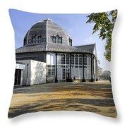 The Octagon - Buxton Pavilion Gardens Throw Pillow