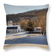 The Ol Homestead Throw Pillow by Bill Wakeley