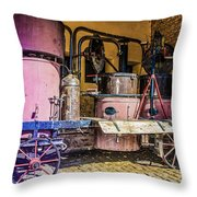 The Old Alambic Throw Pillow