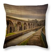 The Old Aqueduct Throw Pillow