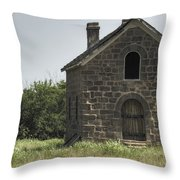 The Old Bakery Throw Pillow