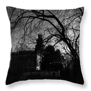 The Old Castle Throw Pillow