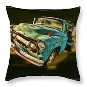 The Old Chevy Max Throw Pillow