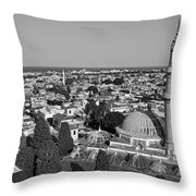 The Old City Of Rhodes Throw Pillow